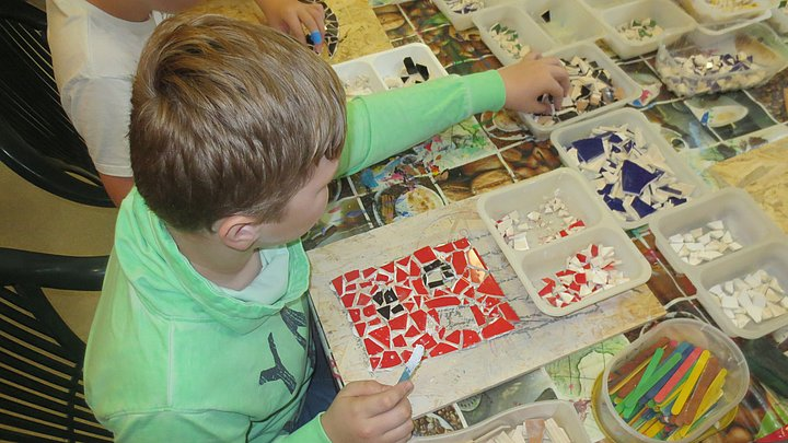 Mosaik-Workshop Hot Exil